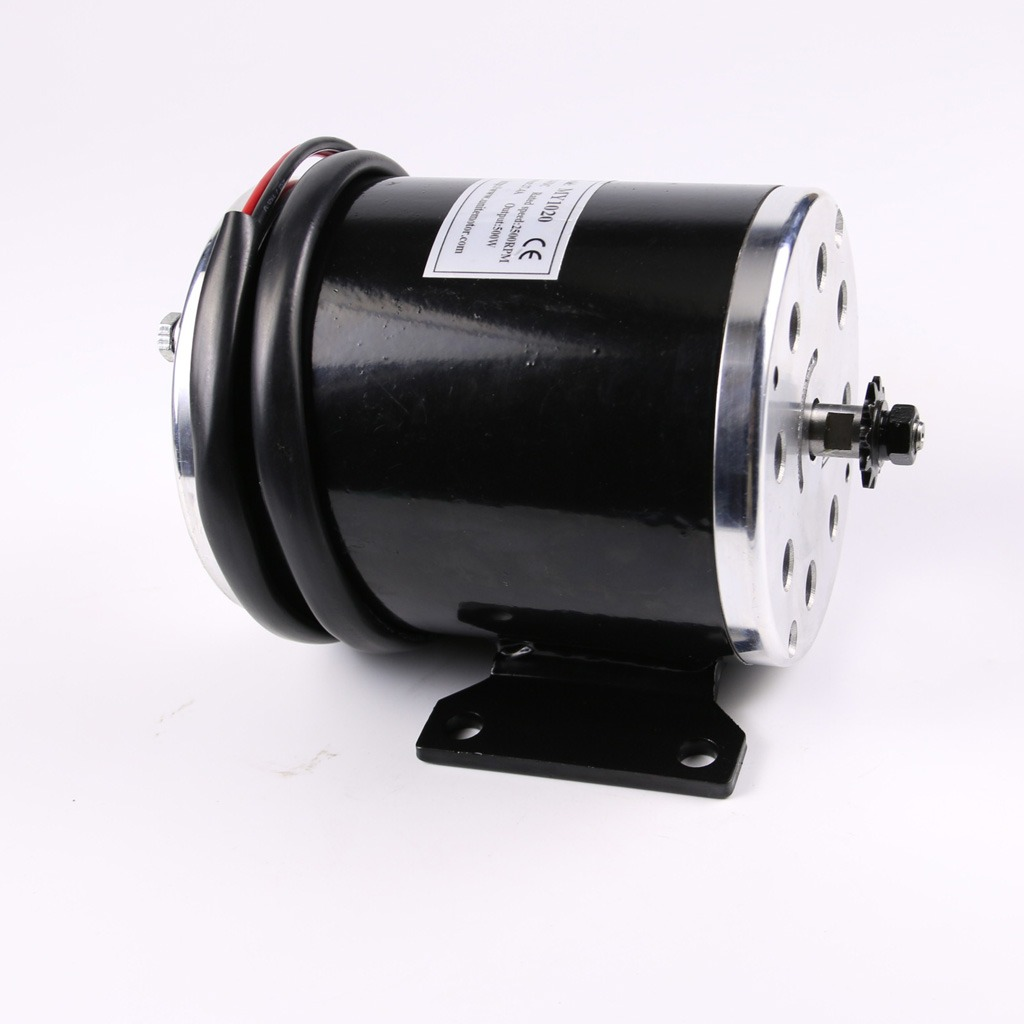 500w 24v Electric Motor For Scooter Go Kart Minibike