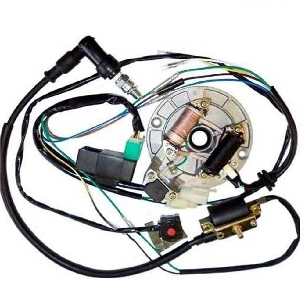 all electrics 50 110 125cc 140 wire harness cdi coil stator note please check the measurement description carefully before bid and please feel to contact us if you re not sure if it fit or not