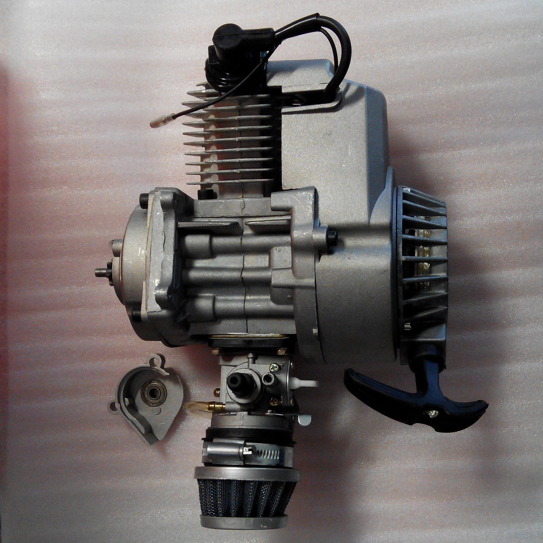 for 47cc 49cc 50cc 2 strokes engine motor mini kid atv. Black Bedroom Furniture Sets. Home Design Ideas