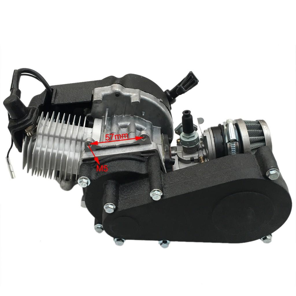 49cc 50cc 2 stroke engine for pocket bike mini dirt pit. Black Bedroom Furniture Sets. Home Design Ideas