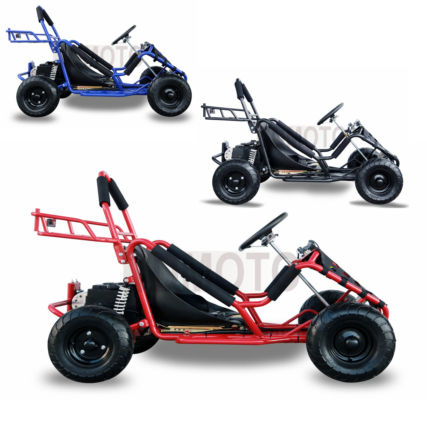 electric racing outdoors go kart 48v 1000w kids quads off. Black Bedroom Furniture Sets. Home Design Ideas
