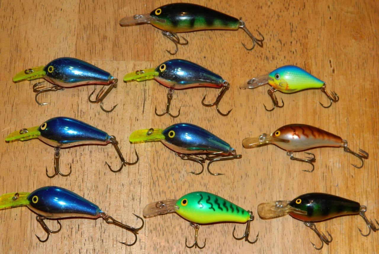 Rapala bass lures for Vintage fishing lures for sale