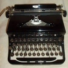 1930s Royal Touch Control Portable Typewriter