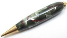 1930s Sheaffer's Mechanical Golfer Pencil Grey-Red