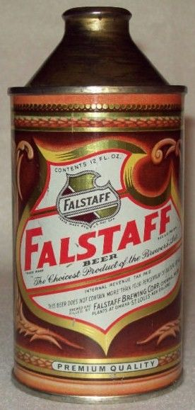 1935 Fallstaff First Cone Top Beer CAn