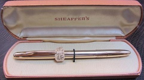 1940s Sheaffer Stratowriter Tuck away Pen Ballpoint w/Box