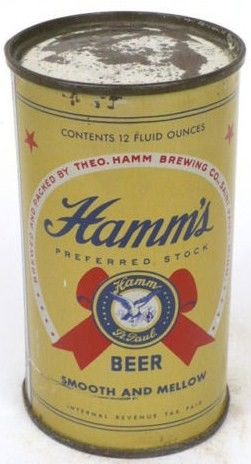1946 Hamm's Preffered Stock IRTP Beer Can