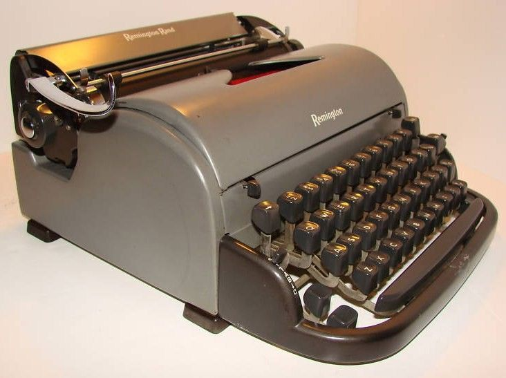 1950 Remington Rand Vintage Typewriter