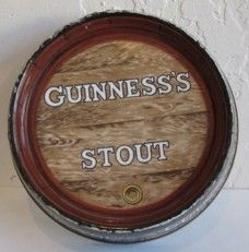 Guiness Stout Beer Bar Ashtray