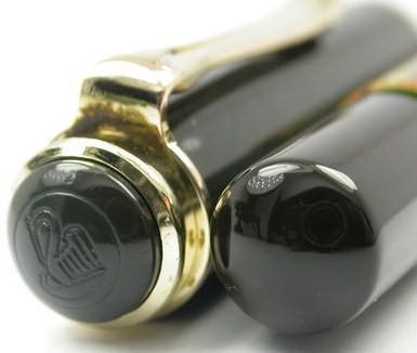 1954 Pelikan 400 Brown Tortoise Fine Nib 585 Gold Fountain Pen