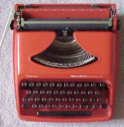 1960 Remington Sperry Rand in Red