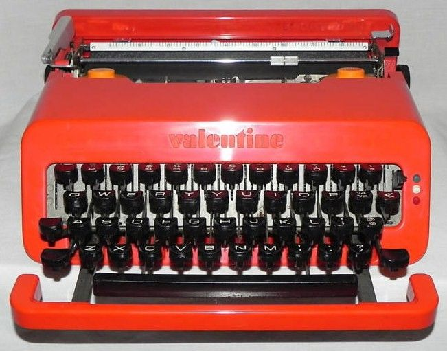 Olivetti Valentine Typewriter