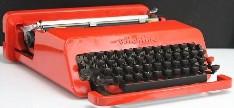 Olivetti Valentine typewriter 1969