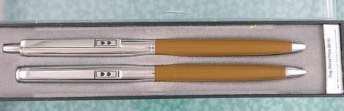 1980s Paper Mate Ballpoint Pen/Pencil Set Vintage NOS