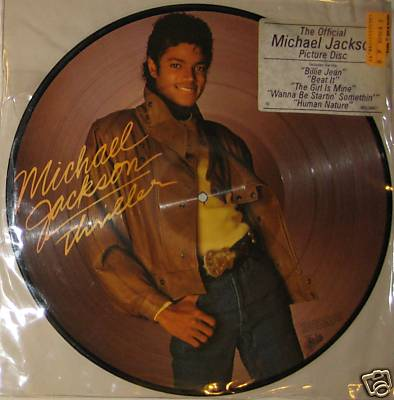 Michael Jackson Thriller Picture Disc Album LP