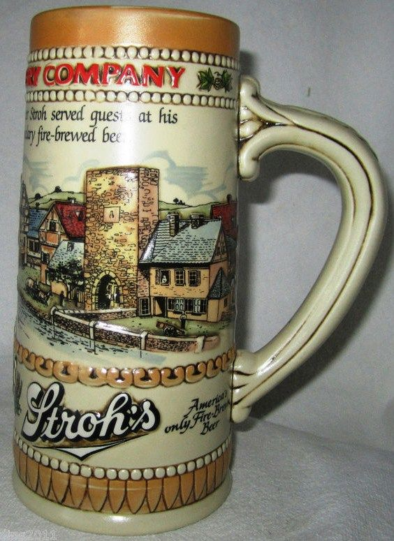 1985 Heritage Series 2 Stroh's Stein Fire Brewed