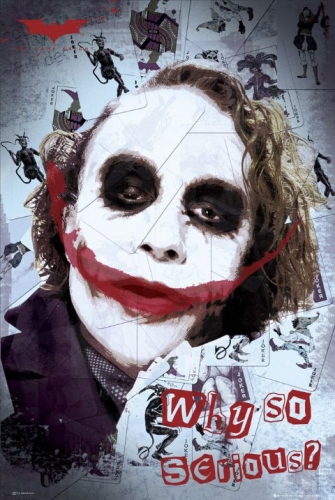 24 x 36 Movie Poster Dark Knight Joker