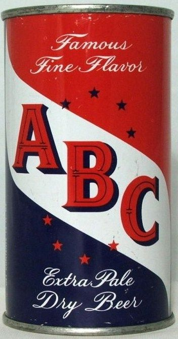 ABC Extra Pale Dry Flat Top Beer Can Maier Brewing