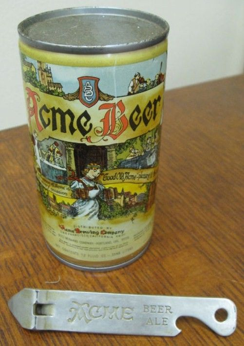 Antique Acme Beer Can Opener
