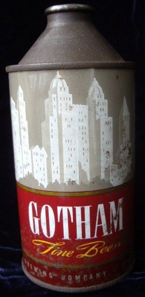Antique Gotham Cone Top Beer Can Cincinnati Brewing Co.