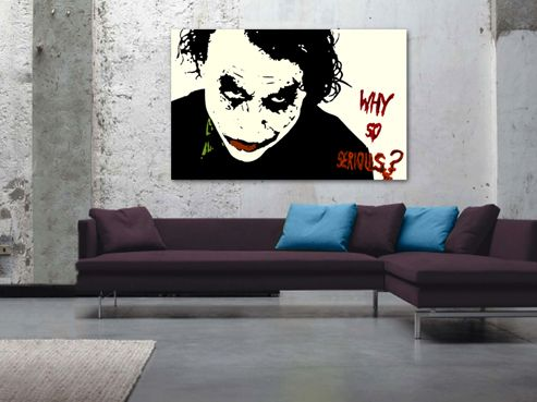 Joker Heath Display Wall Hanging