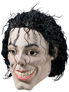 Michael Jackson Adult Halloween Mask