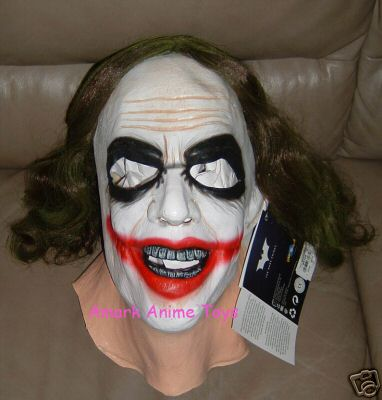 Adult Joke Deluxe Latex Mask with Hair