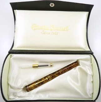 Amber Conway Stewart Dandy Fountain Pen 18kt NIB Limited 479 of 500