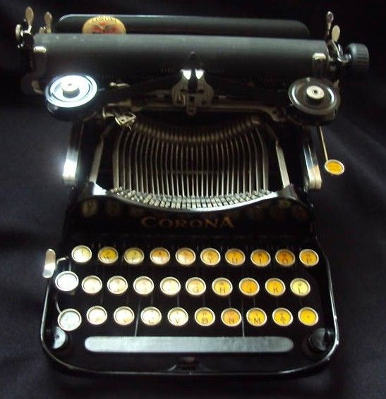 Early 1900's Corona Typewriter