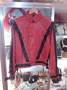 Authentic 1980's Michael Jackson Thriller Jacket
