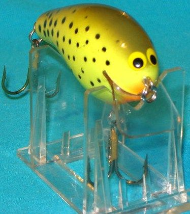 Bagley's BB3 Olive on Chartreuse Tough Color Crankbait Lure