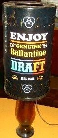 Ballantine Beer Bar Lamp With Moving Colors