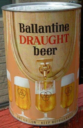 Ballantine Gallon Beer Can