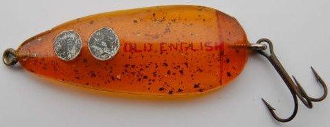 Bingo Lure Old English Spoon Nichols Hump Pico
