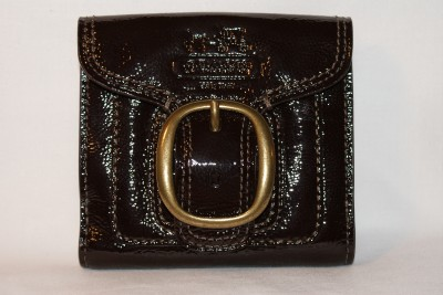 Bleecker Patent Leather French Purse Wallet Style F41555