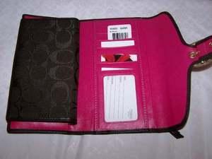 Bleecker Checkbook Wallet Inside Style 40893