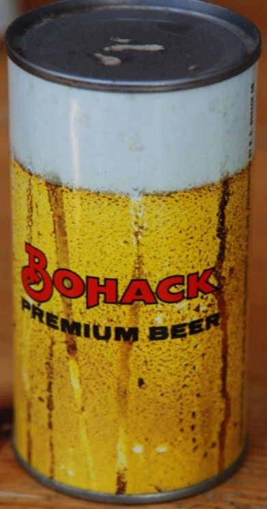 Bohack Premium Beer 12oz Flat Top