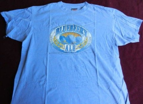 Boston Beer Works Blueberry Ale Vintage T Shirt