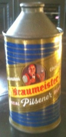 Braumeister Cone Top Beer Can