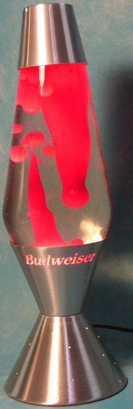Classic Budweiser Lava Lamp