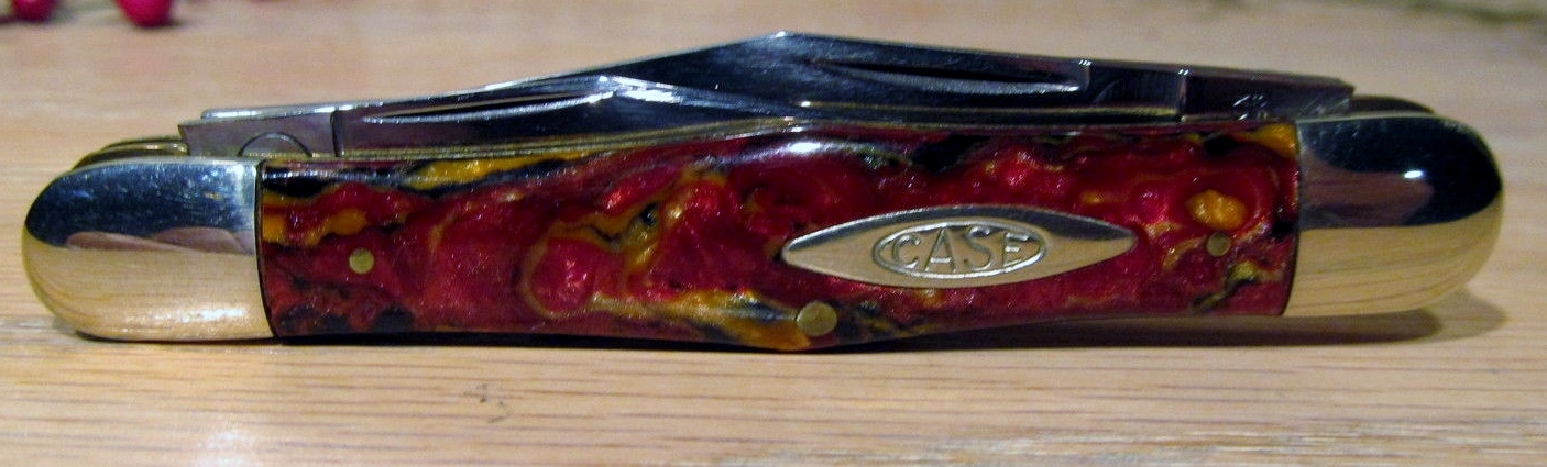 Case Classic Cranberry Swirl 083 Whittler Knife