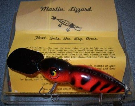 Classic Martin Lizzard Fishing Lure