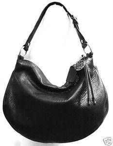 Coach Ali Black Leather Hobo Bag 13655
