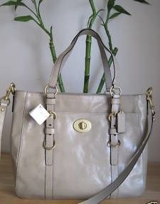 Coach Chelsea Putty Patent Leather Tote Bag