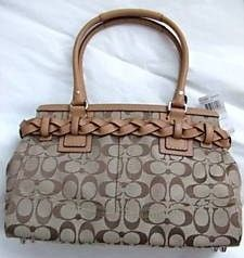 Coach Hamptons Signature Carryall Bag