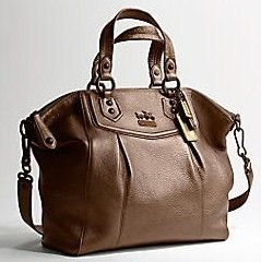Coach Madison Leather Claire Oversized Handbag