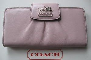 Coach Madison Leather Slim Envelope Wallet 41975