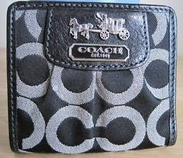 Coach Madison OP Art Pleated Small Wallet