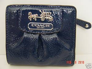 Coach Madison Patent Leather Small Wallet