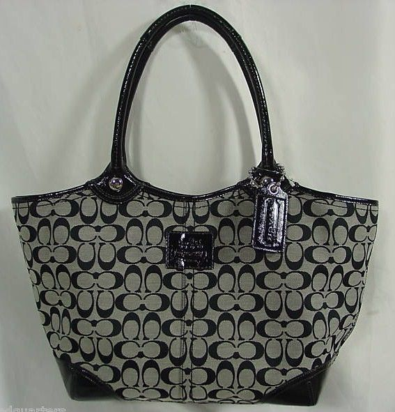 Coach Signature Lg Bleeker Tote